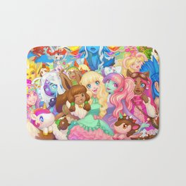 Dollightful Banner Art 2018 Bath Mat