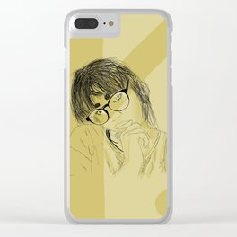 Orion Vanessa Clear iPhone Case