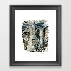 Forbidden Forest Framed Art Print
