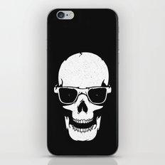 Skull in shades iPhone Skin