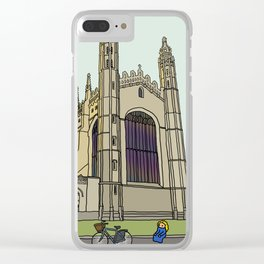 Cambridge stuggles: King's Clear iPhone Case