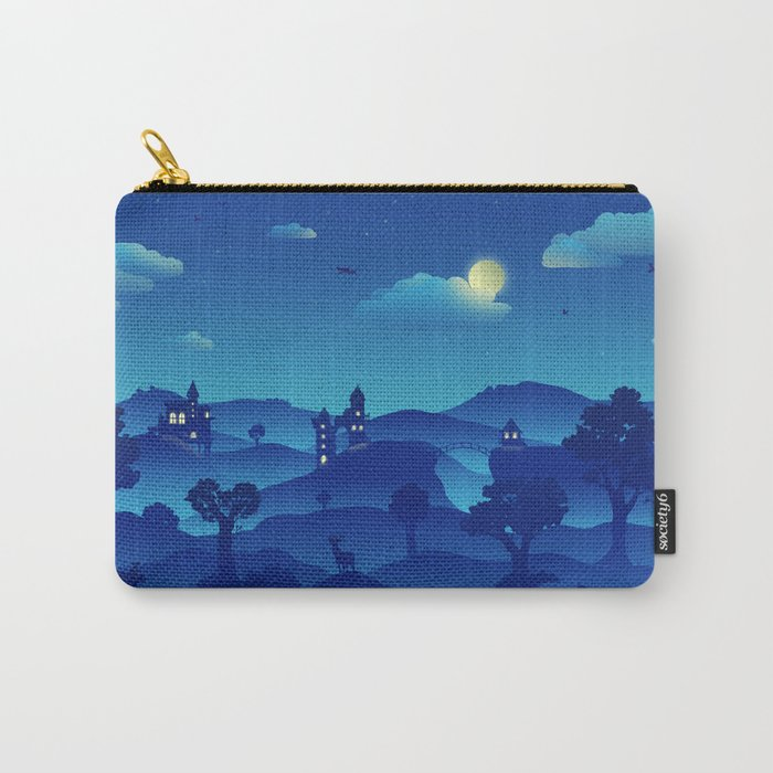 Fairytale Dreamscape Carry-All Pouch