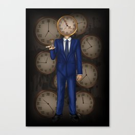 The Timekeeper Canvas Print