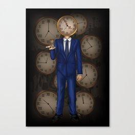 The Timekeeper Canvas Print
