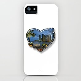 I Love Miami iPhone Case