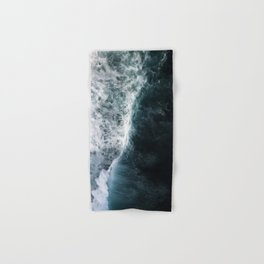 Oceanscape - White and Blue Hand & Bath Towel