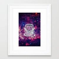 fandom Framed Art Prints featuring Galaxy Fandom Academy by Thg Fashion