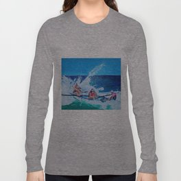 Surf Boat Rowers Long Sleeve T-shirt