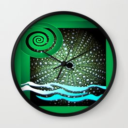 Sea Urchin - Kina Wall Clock