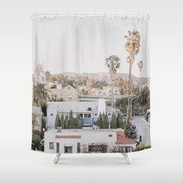 Hollywood California Shower Curtain