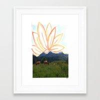 switzerland Framed Art Prints featuring switzerland by Anna Bergland