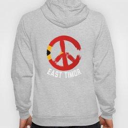 East Timor Peace Sign Shirt Hoody