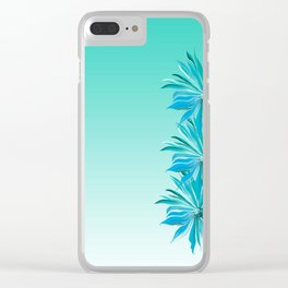 Topical Breeze Clear iPhone Case