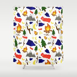 Scouts honor Shower Curtain