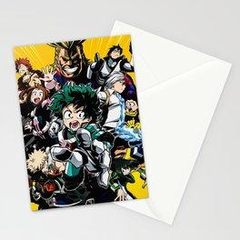 My Hero Academia Stationery Cards