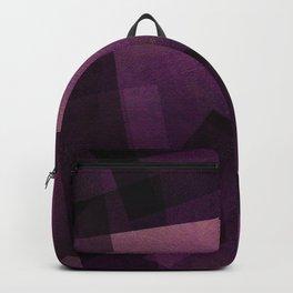 Modular Magenta - Digital Geometric Texture Backpack