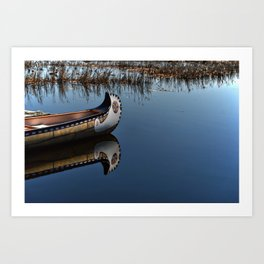 The Way of the Canoe Art Print