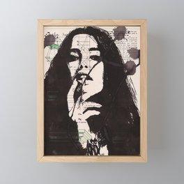 Corazon Framed Mini Art Print