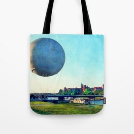 Cracow Wawel baloon Tote Bag