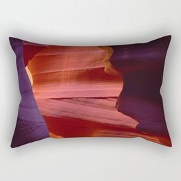 Majestic Slot Canyons Painted By the Divine Rectangular Pillow