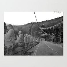 Buddhas on the Road Canvas Print