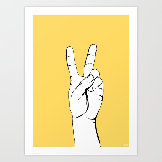 Peace I by kristineillustration