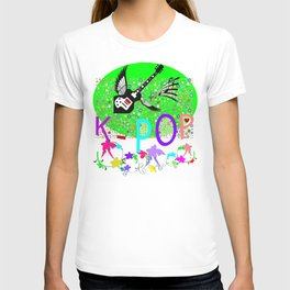K-Pop Green Melody T-shirt
