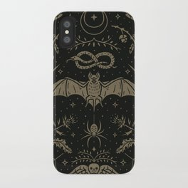 Cemetery Nights iPhone Case