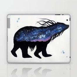 Milky Way Bear Laptop & iPad Skin