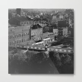 Subway No. 9 Metal Print