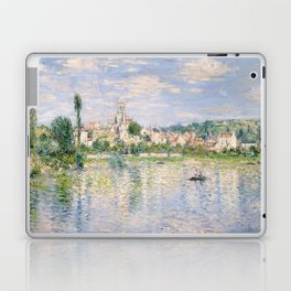 Vetheuil in Summer 1880 by Claude Monet Laptop & iPad Skin