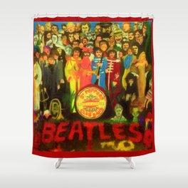 SGT PEPPER Shower Curtain