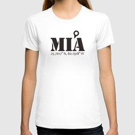 MIA / Miami (Never Get Lost) T-shirt