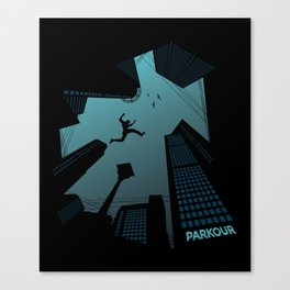 Parkour Canvas Print
