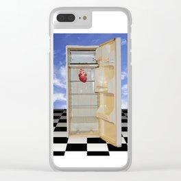 Corazón (Heart) Clear iPhone Case
