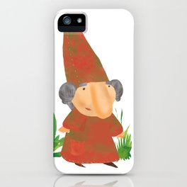 Wilhelmina the Gnome iPhone Case