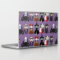 evil Laptop & iPad Skins featuring Evil kokeshis by Pendientera