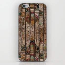 Encrypted Map iPhone Skin