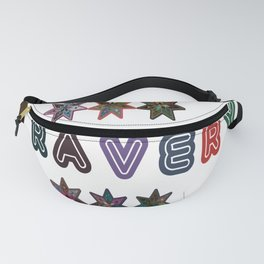 Rbg Sweat colorful Design for Clothes and Accessories Fanny Pack