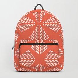 Geometric Dots Pattern - Pink Backpack