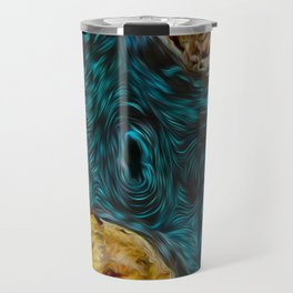 Mystic lagoon Travel Mug