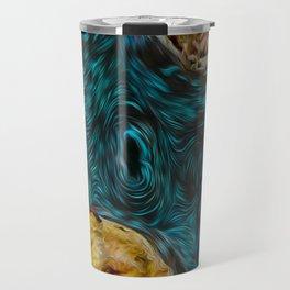 Mystic lagoon Travel Mug
