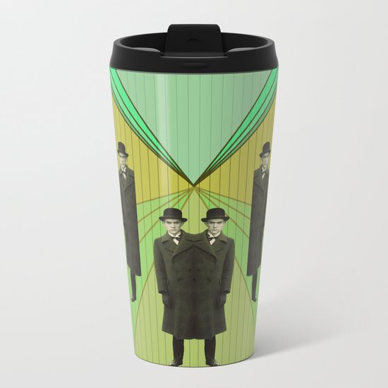 spies are everywhere Metal Travel Mug