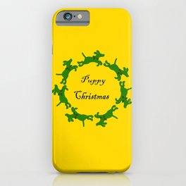 Puppy Christmas! iPhone Case