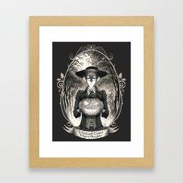Portrait: Ichabod Crane (Sleepy Hollow) Framed Art Print