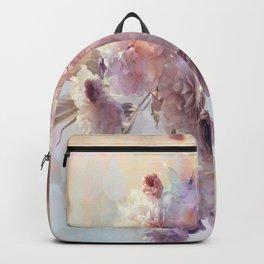 Vintage Beauty, Flower Blossoms Backpack