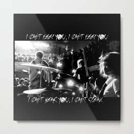 We Hate You, Please Die Metal Print