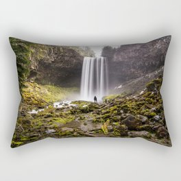 Tamanawas Falls Rectangular Pillow
