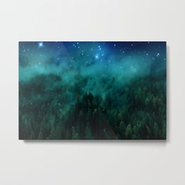 Deep into the forest Metal Print