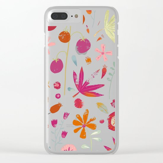 Last of the Crop Clear iPhone Case